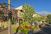 Street scenic of tourist destination<br /> Niagara-On-The-Lake<br /> Ontario<br /> Canada