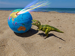 June 14, 2018 - Tyrannosaurus Rex | Tyrannosaurus Rex 14/06/2018 (Credit Image: © Patrick Lefevre/Belga via ZUMA Press)