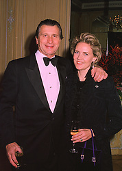 MON.& MME ARNAUD BAMBERGER, he is Managing Director of Cartier Ltd. at a dinner in London on 19th November 1997.MDM 4