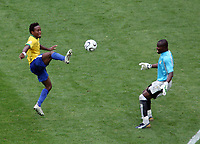 Photo: Chris Ratcliffe.<br /> Brazil v Ghana. Round 2, FIFA World Cup 2006. 27/06/2006.<br /> Ze Roberto of Brazil chips the Ghana keeper Richard Kingson to go on and score the third Brazil goal.