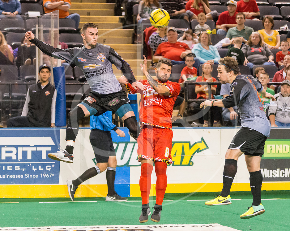 The Blast defeat the Silver Knights 6-5 in Game 1 of the Eastern Division Championship.   Tony Donatelli scores the game winner with :42 remaning in the 3rd OT.
