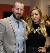 21/02/2018 REPRO FREE  The 2018 Irish Fashion Innovation Awards was launched at Monaghans & Sons Ltd showrooms.<br /> <br /> The 2018 Irish Fashion Innovation Awards take place on March 22nd at The Galmont Hotel & Spa, Galway<br /> At the stylish launch was attended by Kiera O'Malley and  Ruth McCourt, Goldenegg  Photo:Andrew Downes, XPOSURE