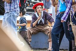 Movimentação de Publico durante a 38ª Expointer, que ocorre entre 29 de agosto e 06 de setembro de 2015 no Parque de Exposições Assis Brasil, em Esteio. FOTO: Pedro H. Tesch/ Agência Preview