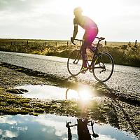 Scott Purchas, Peak District, England, winter shoot for Kinesis bikes.