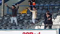 Leeds United owner Andrea Radrizzani (right) celebrates after the match<br /> <br /> Photographer Alex Dodd/CameraSport<br /> <br /> The EFL Sky Bet Championship - Leeds United v Barnsley - Thursday 16th July 2020 - Elland Road - Leeds<br /> <br /> World Copyright © 2020 CameraSport. All rights reserved. 43 Linden Ave. Countesthorpe. Leicester. England. LE8 5PG - Tel: +44 (0) 116 277 4147 - admin@camerasport.com - www.camerasport.com