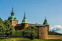 Scenes around Kalmar Slott (Kalmar Castle)