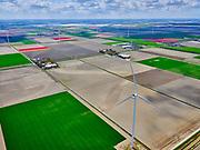 Nederland, Noord-Holland, gemeente Hollands Kroon, 07-05-2021; Wieringermeer gezien naar Wieringen, Den Oever,  Hoge Kwelvaart.<br /> <br /> luchtfoto (toeslag op standard tarieven);<br /> aerial photo (additional fee required)<br /> copyright © 2021 foto/photo Siebe Swart