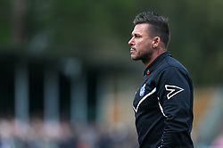 Billericay Town's Owner and Manager Glenn Tamplin at half time