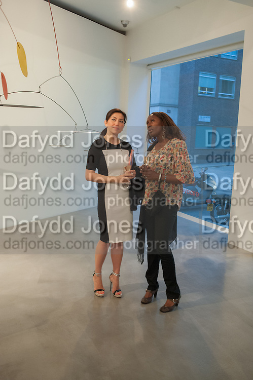 PHUONG BANH; DONNA CROSS, Pilar Ordovas hosts a Summer Party in celebration of Calder in India, Ordovas, 25 Savile Row, London 20 June 2012