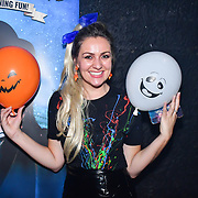 Larissa Eddie attend the preview PhoboPhobia Live Halloween Show on 10th October 2019, at The London Bridge Experience & London Tombs, London, UK.