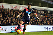 Daryl Janmaat of Newcastle United in action. Barclays Premier league match, Tottenham Hotspur v Newcastle Utd at White Hart Lane in London on Sunday 13th December 2015.<br /> pic by John Patrick Fletcher, Andrew Orchard sports photography.