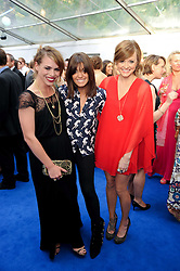 Left to right, BILLIE PIPER, CLAUDIA WINKLEMAN and FEARNE COTTON at the Glamour Women Of The Year Awards held in Berkeley Square, London on 8th June 2010.