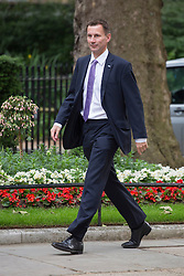 © licensed to London News Pictures. London, UK 26/06/2013. Jeremy Hunt Secretary of State for Health attending cabinet meeting in Downing Street on Wednesday, 26 June 2013. Photo credit: Tolga Akmen/LNP