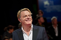 UK actor Eddie Izzard arriving to the premiere of Victoria & Abdul at the 74th Venice International Film Festival in Venice, Italy on September 3, 2017. Photo by Marco Piovanotto/ABACAPRESS.COM