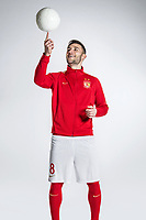 **EXCLUSIVE**Portrait of Serbian soccer player Nemanja Gudelj of Guangzhou Evergrande Taobao F.C. for the 2018 Chinese Football Association Super League, in Guangzhou city, south China's Guangdong province, 7 February 2018.