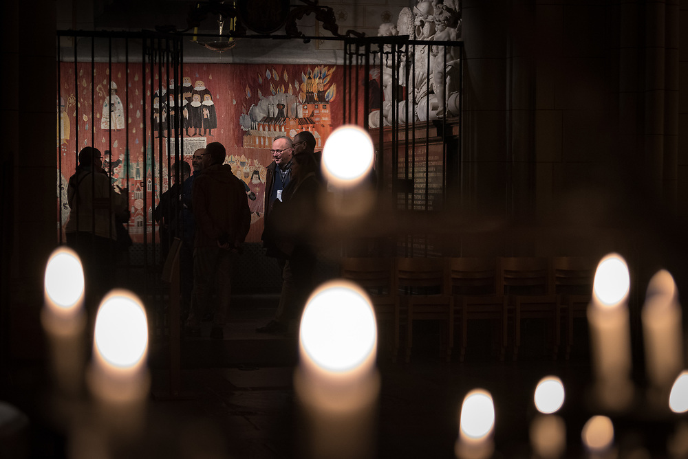 31 October 2018, Uppsala, Sweden: On Wednesday evening, participants in the ACT Alliance 2018 general assembly visited the Uppsala Cathedral for a guided tour.