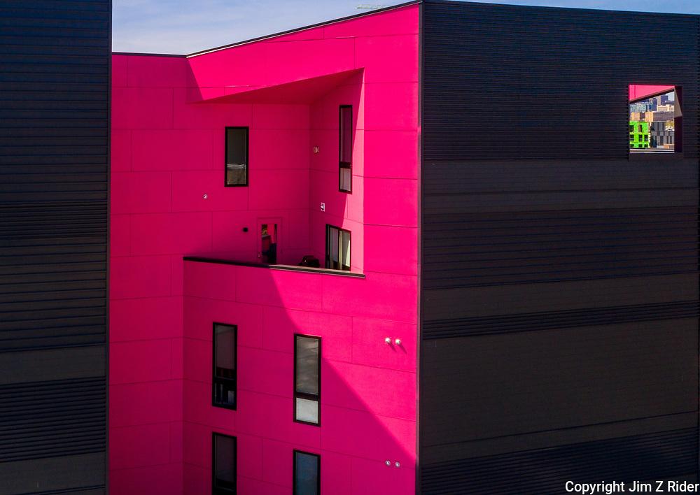 Apartment building in Fishtown, a neighborhood in Philadelphia, PA.
