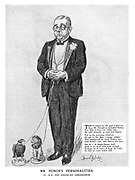 Mr. Punch's Personalities. IV. H. E. The American Ambassador.