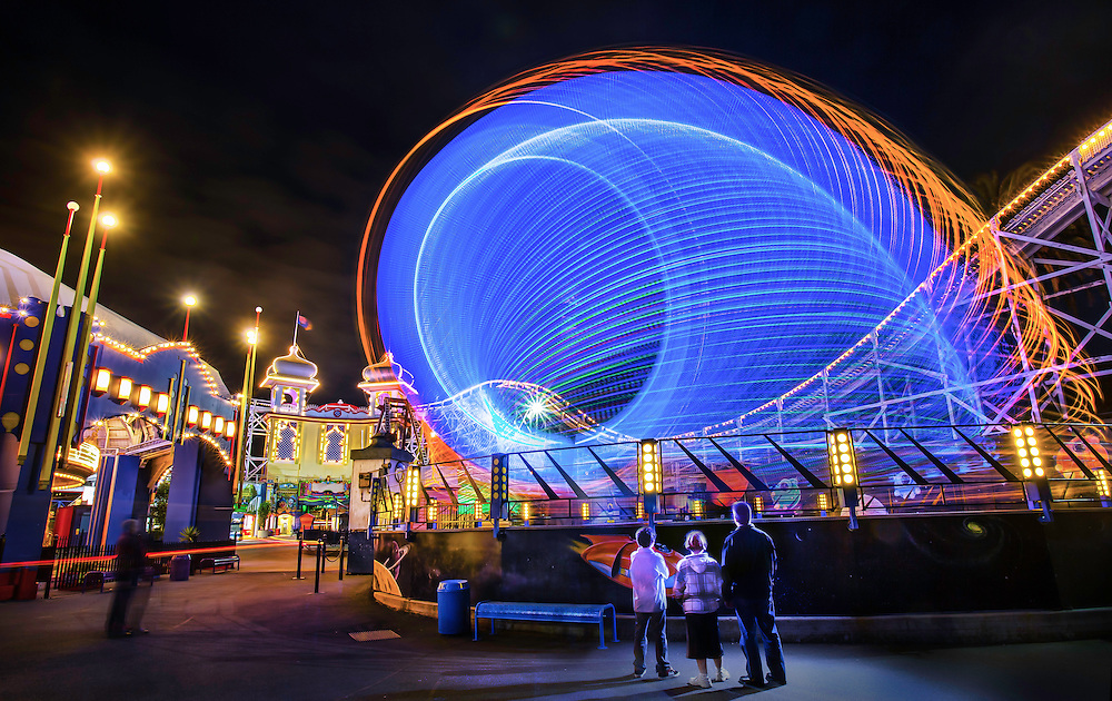 17/11/2012. Luna Park at night, twilight. Luna Park celebrated it's 100th birthday on 13th December 2012..Picture By Craig Sillitoe. This photograph can be used for non commercial uses with attribution. Credit: Craig Sillitoe Photography / http://www.csillitoe.com<br /> <br /> It is protected under the Creative Commons Attribution-NonCommercial-ShareAlike 4.0 International License. To view a copy of this license, visit http://creativecommons.org/licenses/by-nc-sa/4.0/.
