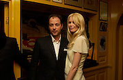 Matthew Vaughn and Claudia Schiffer. Artists Independent Networks  Pre-BAFTA Party at Annabel's co hosted by Charles Finch and Chanel. Berkeley Sq. London. 11 February 2005. . ONE TIME USE ONLY - DO NOT ARCHIVE  © Copyright Photograph by Dafydd Jones 66 Stockwell Park Rd. London SW9 0DA Tel 020 7733 0108 www.dafjones.com