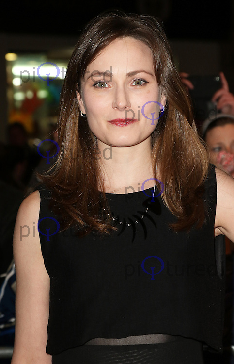 Anna Madeley, Whatsonstage.com Awards Concert, Prince of Wales Theatre, London UK, 15 February 2015, Photo by Richard Goldschmidt