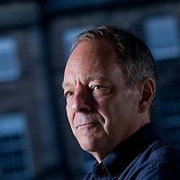 Tom Drury, the American novelist, at the Edinburgh International Book Festival 2015.<br /> Edinburgh, Scotland. 28th August 2015 <br /> <br /> Photograph by Gary Doak/Writer Pictures<br /> <br /> WORLD RIGHTS