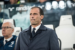 October 25, 2017 - Turin, Piemonte/Torino, Italy - Massimiliano Allegri (Juventus FC) during theSerie A: Juventus FC vs S.P.A.L. 2013 at Allianz Stadium. Juventus wins 4-1. Turin, Italy 25th october 2017 (Credit Image: © Alberto Gandolfo/Pacific Press via ZUMA Wire)