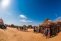 Arbore tribe village, Omo Valley, Ethiopia.