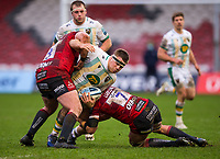 Northampton Saints' Paul Hill in action during todays match<br /> <br /> Photographer Bob Bradford/CameraSport<br /> <br /> Gallagher Premiership Round 7 - Gloucester Rugby v Northampton Saints - Saturday 30th January 2021 - Kingsholm Stadium - Gloucester<br /> <br /> World Copyright © 2021 CameraSport. All rights reserved. 43 Linden Ave. Countesthorpe. Leicester. England. LE8 5PG - Tel: +44 (0) 116 277 4147 - admin@camerasport.com - www.camerasport.com
