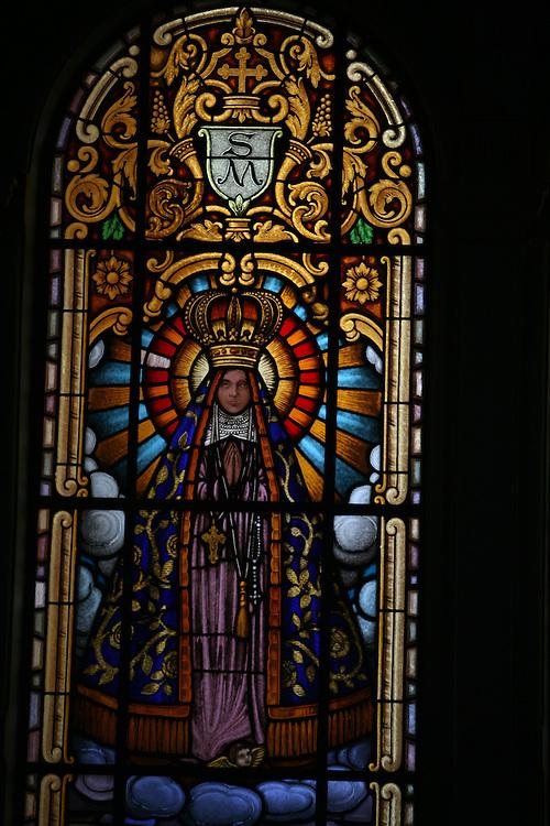 Curitiba_PR, Brasil.<br /> <br /> Interior da Capela Santa Maria Espaco Cultural em Curitiba, Parana.<br /> <br /> Chapel Santa Maria Cultural Center in Curitiba, Parana.<br /> <br /> Foto: JOAO MARCOS ROSA / NITRO