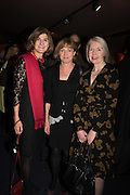MARGY KINMONTH; KATE MUIR; MAUREEN MURRAY  Party afterwards at the Royal Academy, Premiere of Revolution, New Art For a New World ,  Curzon cinema , London. 10 Nov 2016