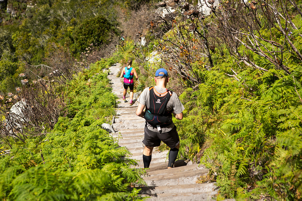 The 2018 Ultra Trail Cape Town endurance trail running race that takes place on Table Mountain National Park in Cape Town, South Africe, 1 December 2018. Image by Nick Muzik