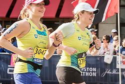 Boston Marathon start