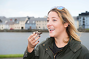 25/09/2016 Kim Burke Newcastle Galway at the Galway International Oyster Festival Photo:Andrew Downes, XPOSURE.