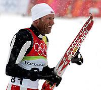OL 2006 Langrenn menn 15km,<br />Pragelato Plan<br />17.02.06 <br />Foto: Sigbjørn Hofsmo, Digitalsport <br /><br />Odd Bjørn Hjelmeset NOR Norge