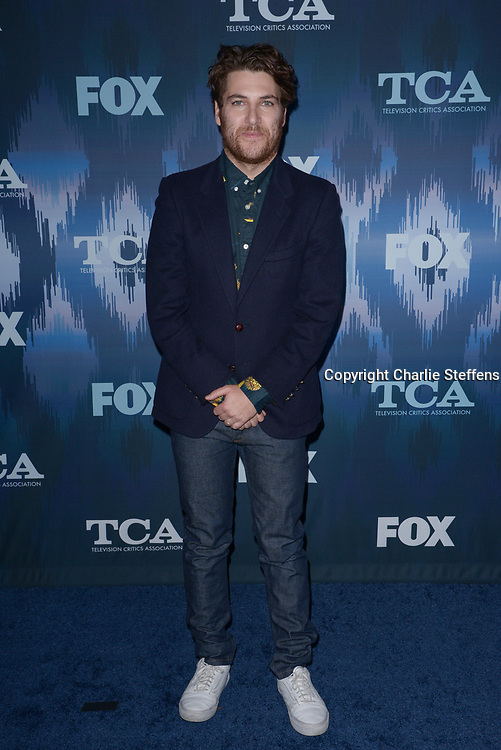 ADAM PALLY at the Fox Winter TCA 2017 All-Star Party at the Langham Hotel in Pasadena, California