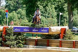 LUHMÜHLEN - Longines CCI5*-L/CCI4*-S Meßmer Trophy<br /> Deutsche Meisterschaften 2021<br /> <br /> AUFFARTH Sandra (GER), Let's Dance 73<br /> Teilprüfung Gelände<br /> CCI4*-S Meßmer Trophy<br /> Cross-Country<br /> <br /> Luhmühlen, Turniergelände<br /> 19. June 2021<br /> © www.sportfotos-lafrentz.de/Stefan Lafrentz