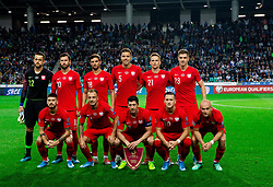 Team Poland during the 2020 UEFA European Championships group G qualifying match between Slovenia and Poland at SRC Stozice on September 6, 2019 in Ljubljana, Slovenia. Photo by Vid Ponikvar / Sportida