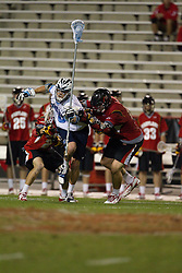 23 April 2010: North Carolina Tar Heels  midfielder Michael Jarvis (8) during a 13-5 loss to the Maryland Terrapins in the first round of the ACC Tournament at Byrd Stadium in College Park, MD.