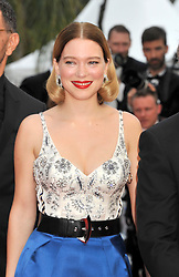72nd Cannes Film Festival 2019, red carpet film The Gangster, The Cop, The Devil. 22 May 2019 Pictured: Lea Seydoux. Photo credit: Pongo / MEGA TheMegaAgency.com +1 888 505 6342