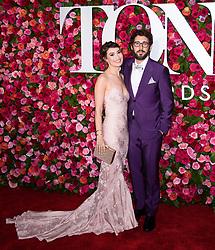 2018 Tony Awards - Red Carpet Radio City Music Hall, NY. 10 Jun 2018 Pictured: Josh Groban, Guest. Photo credit: RCF / MEGA TheMegaAgency.com +1 888 505 6342
