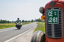 Policeman during 3rd Stage of 26th Tour of Slovenia 2019 cycling race between Zalec and Idrija (169,8 km), on June 21, 2019 in Slovenia. Photo by Matic Klansek Velej / Sportida