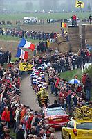 Sykkel<br /> Foto: Dppi/Digitalsport<br /> NORWAY ONLY<br /> <br /> UCI PRO TOUR<br /> PARIS - ROUBAIX 2005 - FRANCE -  10/04/2005 <br /> <br /> ILLUSTRASJON