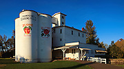 USA, Oregon, Thompson's Mills State Heritage Site, Digital Composite, panorama