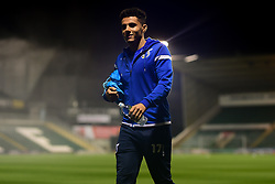 Tyler Smith of Bristol Rovers arrives at Home Park prior to kick off - Mandatory by-line: Ryan Hiscott/JMP - 17/12/2019 - FOOTBALL - Home Park - Plymouth, England - Plymouth Argyle v Bristol Rovers - Emirates FA Cup second round replay