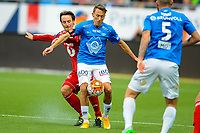 Fotball, 20 August 2015, Tippeligaen, Eliteserien, Molde - Rosenborg, Foto: Marius Simensen, Digitalsport, Mike Jensen, Mattias Mostrøm