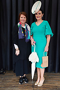 17/08/2017  Treena Sweeney Millars , Clifden with Best Dressed Lady Leanne O'Malley from Maam  at the Connemara Pony Show in Clifden. Photo:Andrew Downes, xposure