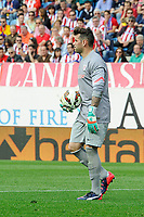 Athletic Club´s goalkeeper Iago Herrerin during 2014-15 La Liga match between Atletico de Madrid and Athletic Club at Vicente Calderon stadium in Madrid, Spain. May 02, 2015. (ALTERPHOTOS/Luis Fernandez)