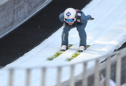 March 22, 2019 - Planica, Slovenia - Piotr Zyla of Poland seen in action during the trial round of the FIS Ski Jumping World Cup Flying Hill Individual competition in Planica. (Credit Image: © Milos Vujinovic/SOPA Images via ZUMA Wire)