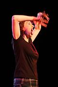 Comedian Sanne Wallis de Vries // Cabaretiere Sanne Wallis de Vries.